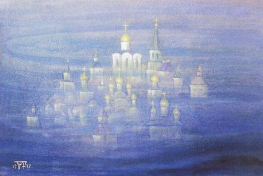 Б.А.Смирнов-Русецкий. Град нетонущий (Китеж). 1977